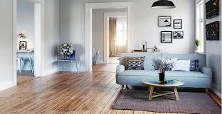 timber floor in living room