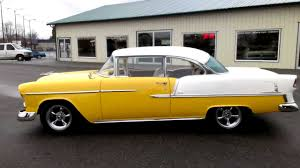 1955 Chevy Bel Air 2 dr hard top - YouTube