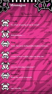 free go sms pro emo theme