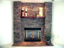 how to install stone veneer over brick stone veneer over brick fireplace attach to cover
