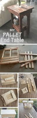 15 Easy DIY Tables That You Can Build on a Budget   Pallet wood ...