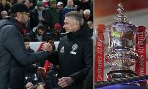 Manchester united drawn with liverpool. Fa Cup Draw Manchester United Face Liverpool At Old Trafford In The Fourth Round Daily Mail Online
