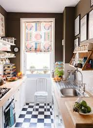 designed by british designer ben pentreath this narrow kitchen is laid out like so many