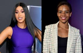 Cardi B hits back at conservative commentator Candace Owens over ...