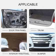 2 of 12 500pcs push pin mixed car door trim panel clip fastener per rivet retainer zy