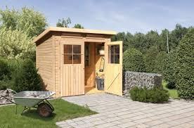 Unsere gartenhäuser eignen sich für die selbstmontage. Gartenhauser Aus Holz Kaufen Karibu