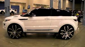 www.DUBSandTIRES.com 2013 Range Rover Evoque Review 26'' Lexani ...