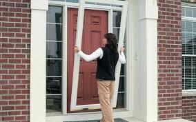 Atrium Door French Doors Vs Sliding Glass Doors Single Exterior