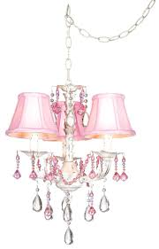 mini closet chandeliers best kids room images on bedroom ideas home and pretty in pink swag style plug in mini chandelier pink chandelier crystal