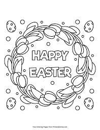 Easter Coloring Pages Ebook Happy Easter Sunday School Coloring
