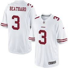 Womens C Rush Jerseys Shop J 49ers Black T-shirts Authentic Jerseys' Beathard -