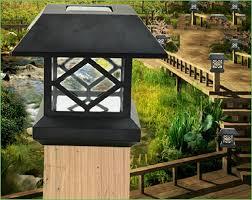 Solar Powered Patio Lights