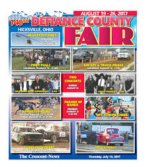 2017 Defiance County Fair By The Crescent News Issuu