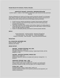 Download New Thinking Regarding Teachers Resume Template Shots