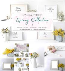 Free Frame Mockups Spring Frame Mockup Bundle Free Download