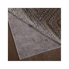 this luxurious 100 felt rug pad provides the ultimate in cushion softness and support with a non stick backing should not be