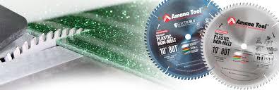 non melt plastic cutting saw blades