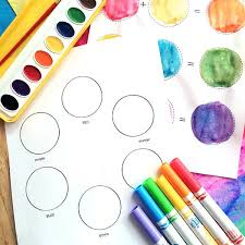 Download pdf file in color or black and white. Color Wheel Printables For Kids 100 Directions