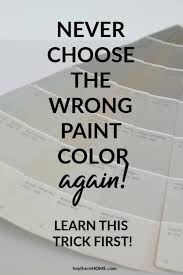choose the perfect greige paint color