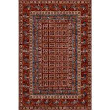 old world classics pazyrk antique red 5 ft x 7 ft area rug