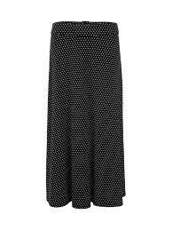 Jacqueline De Yong Size Chart Buy Jacqueline De Yong Dotted Midi Skirt Black Online Robinsons Singapore