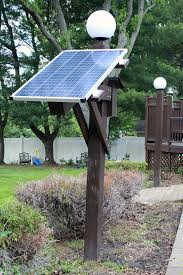 how to make solar power outdoor lights