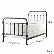 twin metal bed frames – karruzela.club