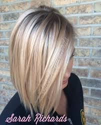 Light Rose Gold Highlighted Blonde Hair