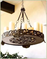 hanging candle chandelier innovative non electric chandelier