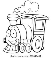 To favorites to favorites in favorites in favorites. Vector Illustration Cartoon Train Coloring Book Stock Vector Royalty Free 292649651