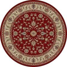 round red rug jewel large red rugs for