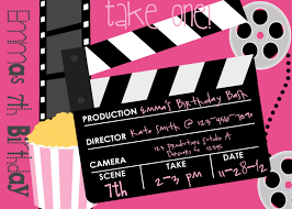 Movie Invitation Template Free Movie Party Invitations Movie Party Invitations For The Invitations 23