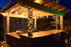outdoor deck lighting. Mini String Lights Outdoor Deck Lighting Ideas To Hang Patio White And Wrap Columns Globe