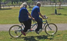 ryan brothers on tandem bike is a joy to behold new york post