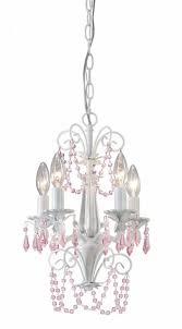 danica ich171b05wh 5 lt chandelier pink crystals 60w type c 12