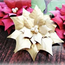3 Stücke 30 Cm Papier Weihnachtsstern Blumen Riesen Papier