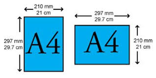 a4 paper size in inches difference between a4 and letter paper sizes a4 vs letter paper sizes