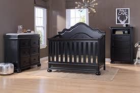 simmons convertible crib. simmons kids peyton 6-piece nursery furniture set (convertible crib, dresser, chest, changing top, toddler guardrail, full size conversion) convertible crib