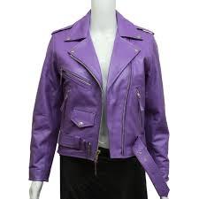 purple leather jacket mens the flash board