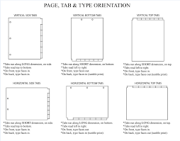 type of tab majestic document holders index tabs
