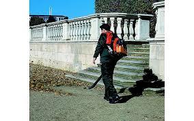hitachi leaf blower. hitachi rb100ef back pack petrol leaf blower