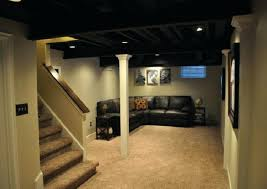 unfinished basement ideas pinterest. Unfinished Basement Ideas Enjoyable Design On A Budget Pinterest