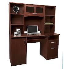 office depot desk hutch. Plain Hutch Realspace Landon Desk With Hutch Cherry To Office Depot D