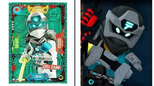 ALL Lego Ninjago - ZANE Minifigure VS TV Show