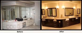 Bathroom Remodels Bathroom Renovation Affordable Remodeling - Before and after bathroom renovations