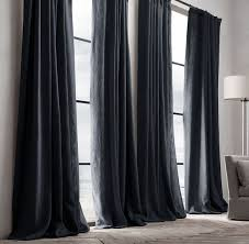 black velvet curtains. Black Velvet Curtains Throughout 11 Celeb Proven Tips To Make Your Home Look More Expensive Decor 5 L