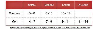 K2 Ski Size Chart 2011 Eurosocks 1212 Board Zone Sock