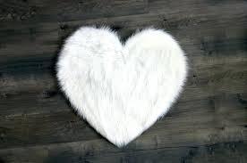 sheep fur rug machine washable faux sheepskin white heart area rug costco sheepskin rug brown