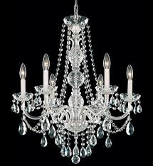 schonbek 1303 40h arlington 24 inch silver heritage handcut crystal chandelier undefined