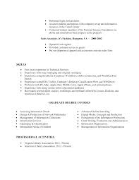 Agreeable Related Coursework On Resume Example On Top Resume